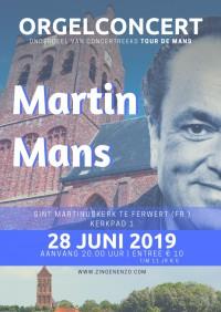 Orgelconcert Martin Mans