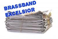 Oud papier Chr. Brassband Excelsior