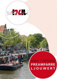 Praamvaren in Leeuwarden met It Nut