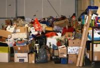 Ophalen bruikbare spullen voor de rommelmarkt