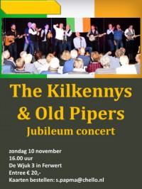 The Kilkennys & Old Pipers Jubileumconcert